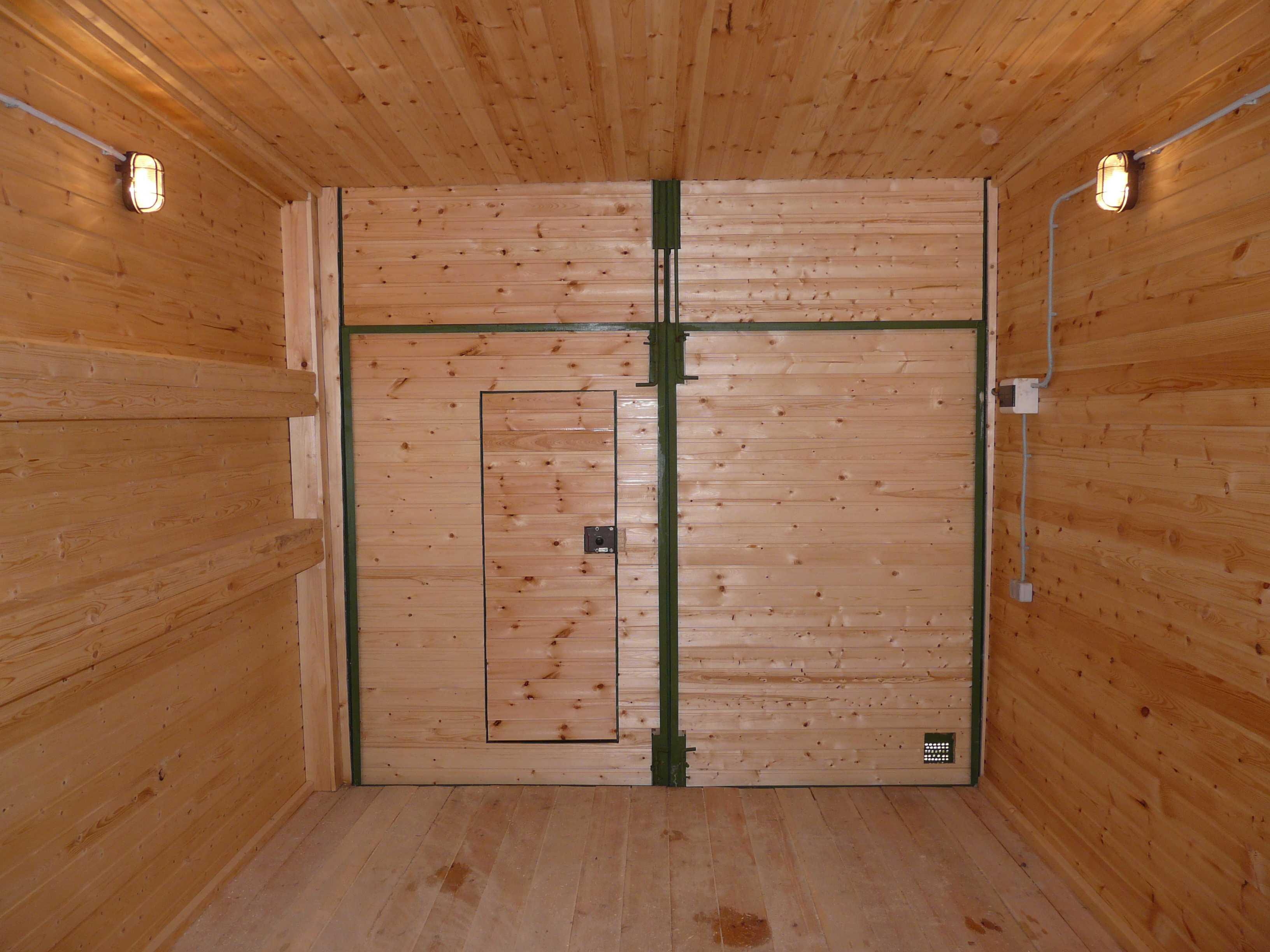 Утепляем деревянный гараж