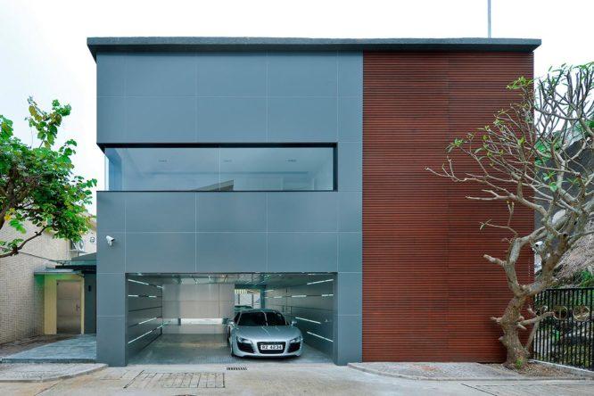 Купить Двухэтажный гараж