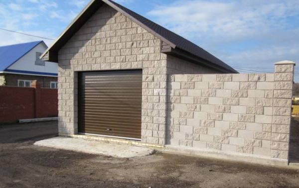 Построить гараж из шлакоблока своими руками видео фото 74